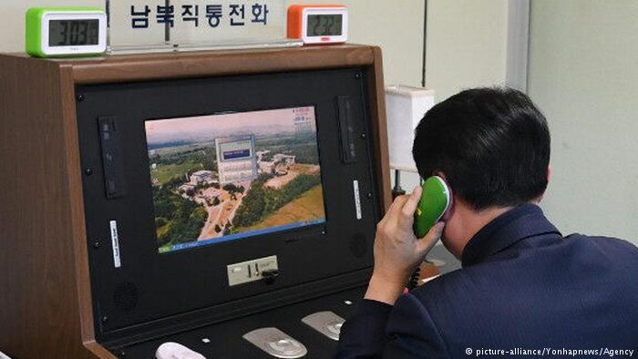 North Korea reopens cross-border hotline with South Korea