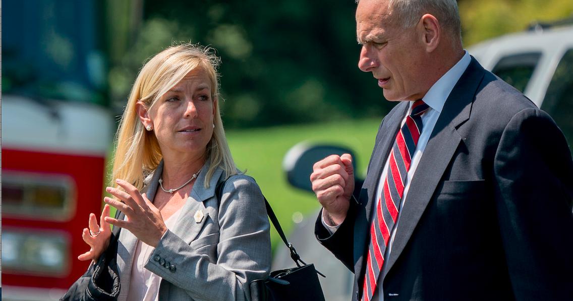 Kirstjen Nielsen nominates to head Homeland Security dept