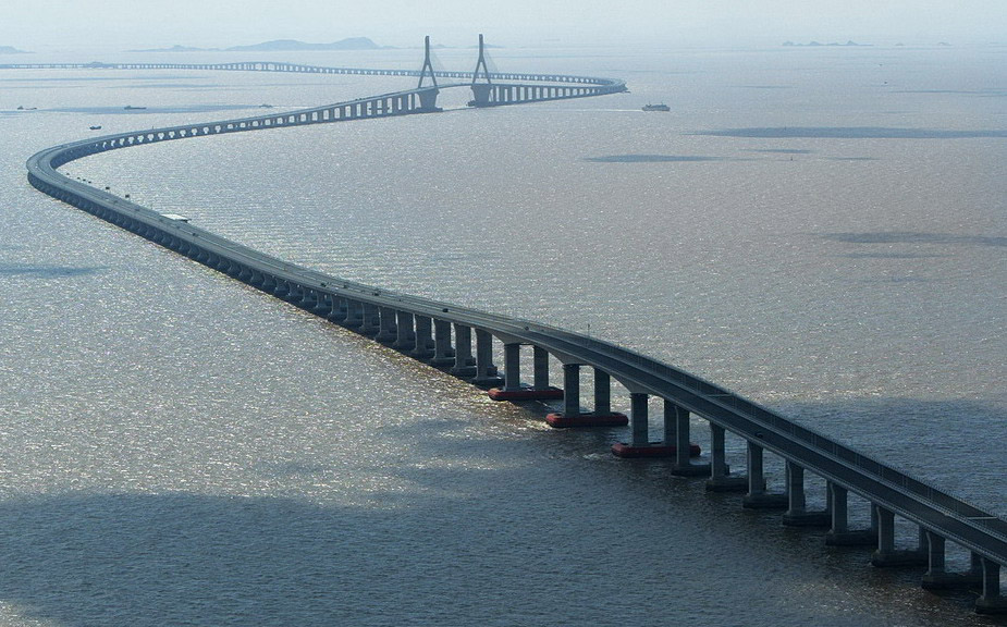 World's longest sea-crossing bridge opens between Hong Kong, China