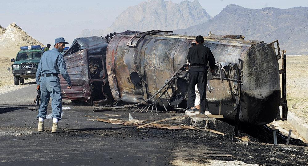 Fuel tanker explosion kills 15 people in Kabul
