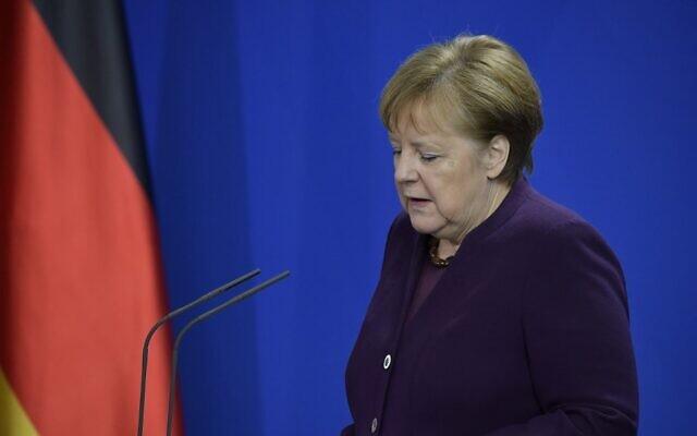 Merkel condemns
