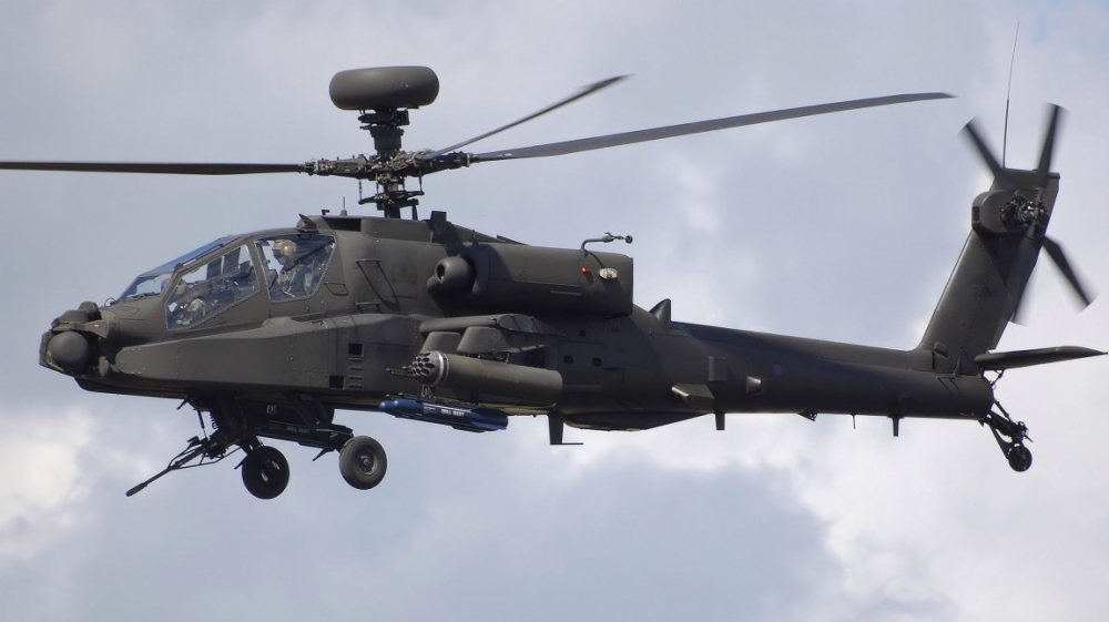 US govt clears sale six AH-64E Apache attack helicopters to India