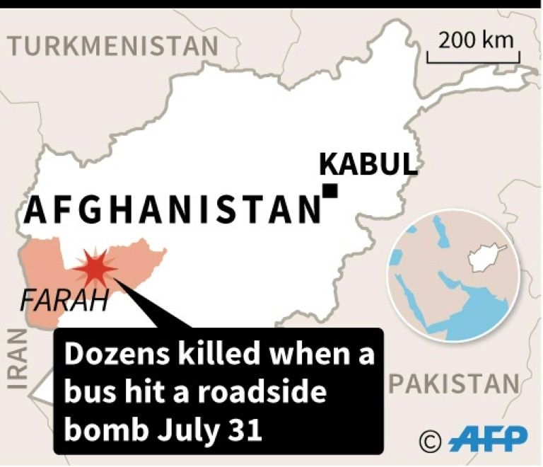 Bomb hits passenger bus in Afghanistan; 18 killed