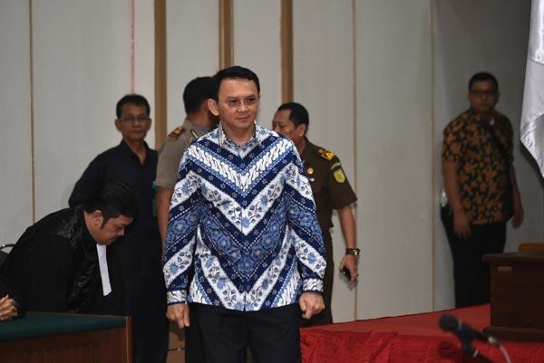 Jakarta governor Ahok found guilty of blasphemy