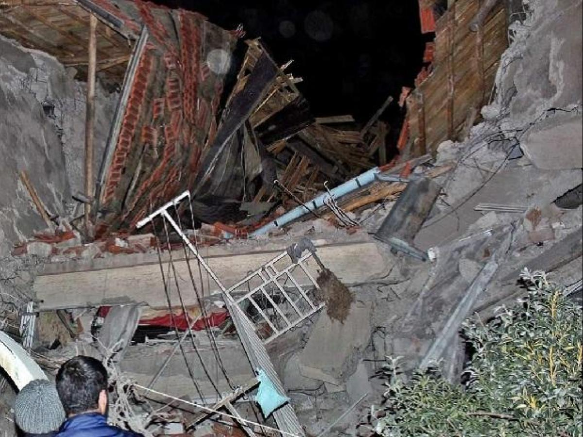 6.8-magnitude quake kills four people in Eastern Turkey