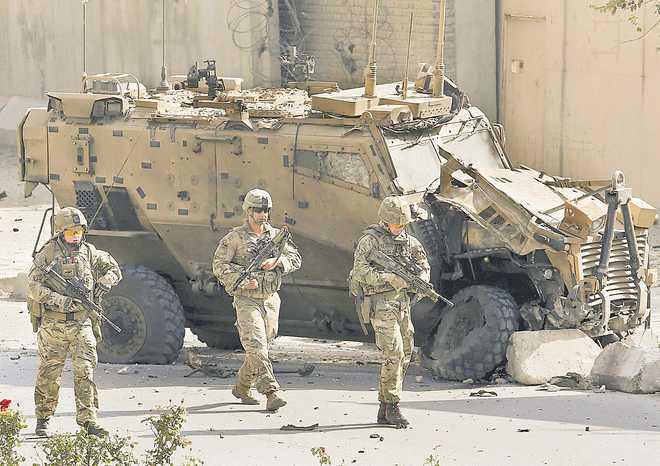 US, Taliban scramble to rewrite draft on troop withdrawal