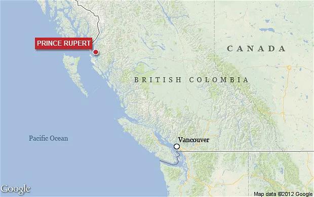 6.2 magnitude earthquake strikes British Columbia