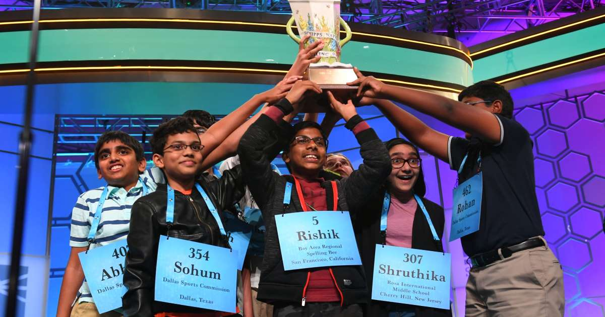 6 Indian-Origin Students Wins US National Spelling Bee