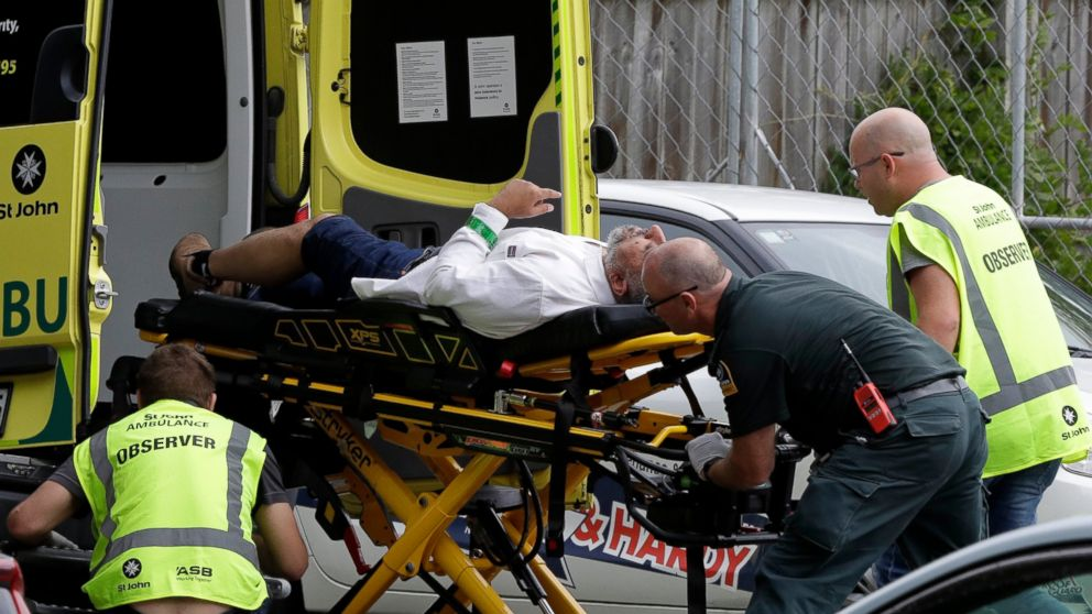 Shooting at New Zealand mosque