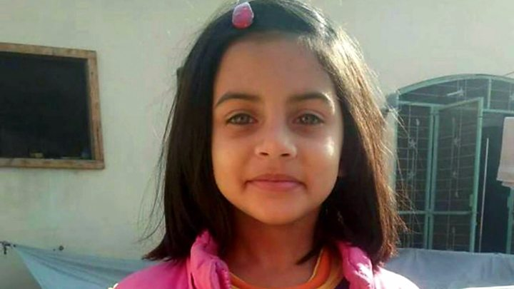 7-year-old Zainab Ansari