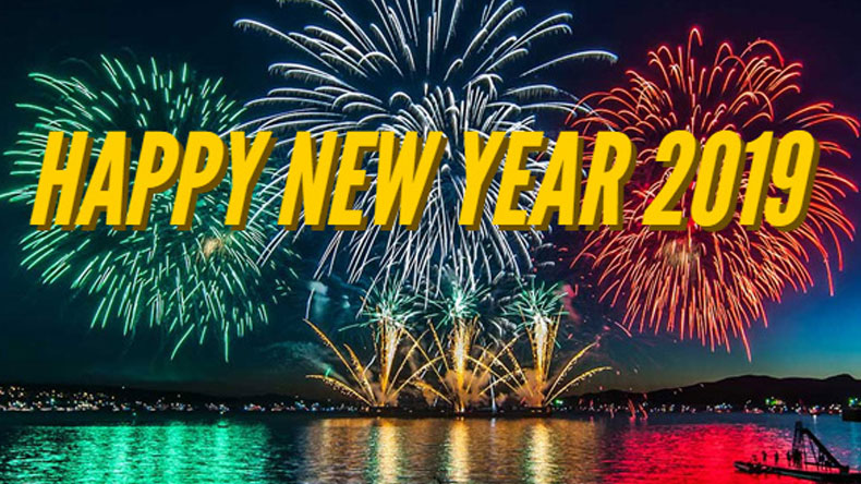 People across the globe welcome new year 2019