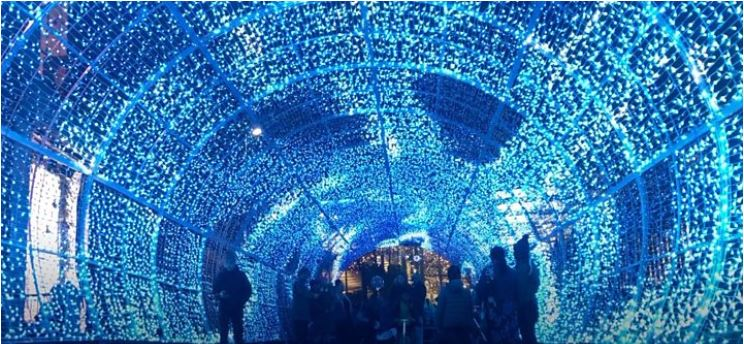 Norwich tunnel of light thrills visitors
