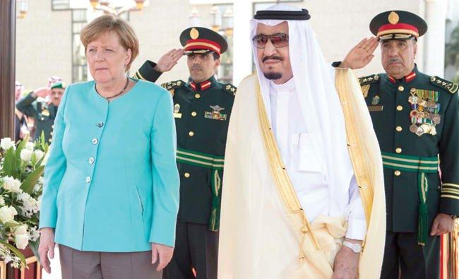 King Salman, Merkel discuss war on terror, G-20 Summit in Jeddah talks