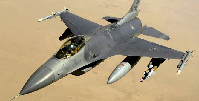 US asks Pakistan to make full payment for F-16