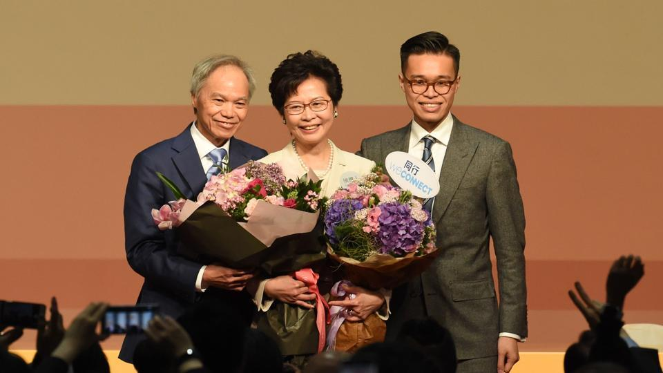 Hong Kong gets its first female chief executive, Lam Cheng sworn-in