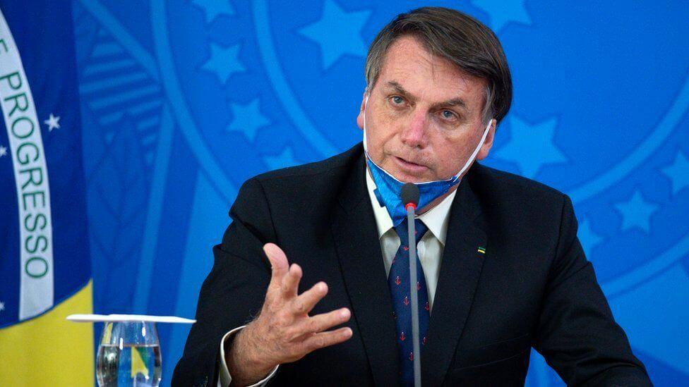 Brazilian President Jair Bolsonaro found positive for coronavirus