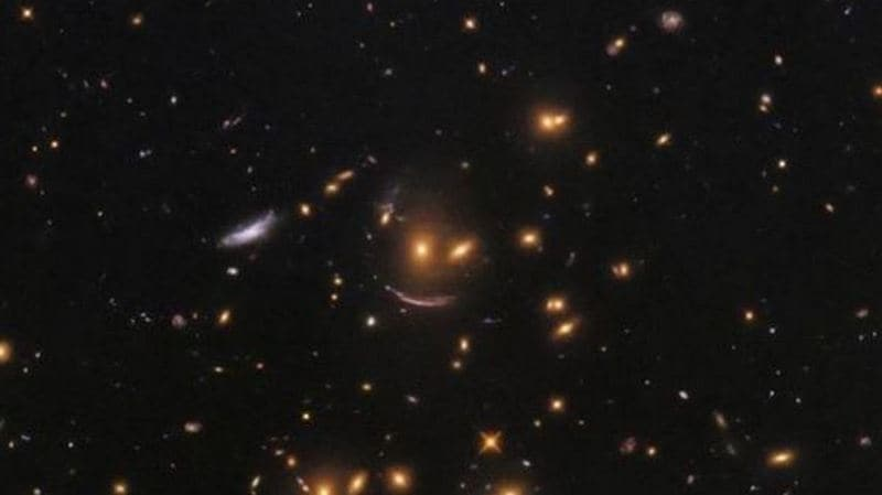 NASA detects smiley in new galaxy