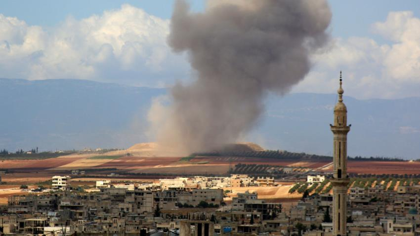 13 civilians killed including six children in Idlib province in Syria