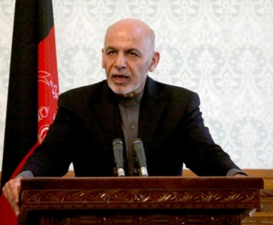 Afghan President Ashraf Gani announces to release 175 Taliban prisoners