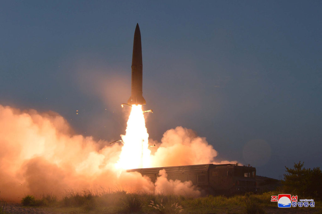 Trump has no problem with latest North Korean missile tests
