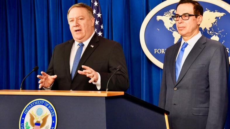 US warns of severe penalties for firms continuing sanctionable commerce with Iran
