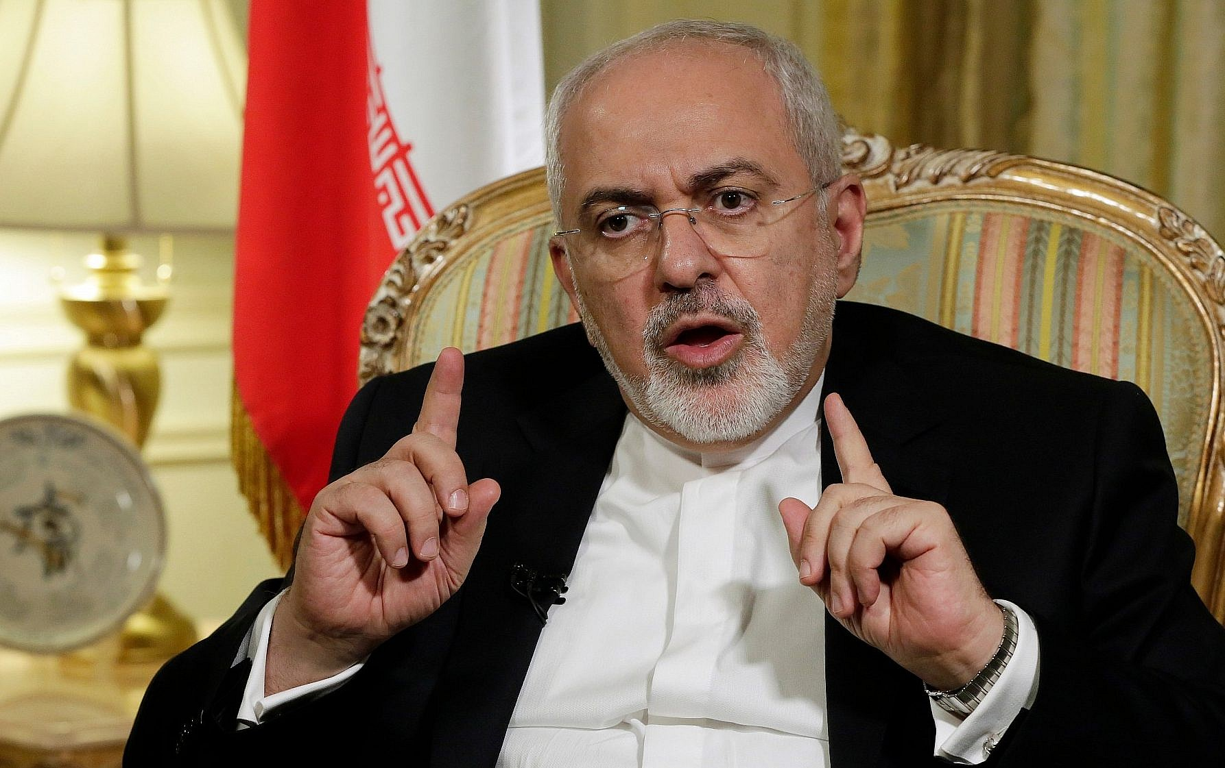 Iran Foreign Minister Mohammad Javad Zarif visits Lebanon, offers support for new government