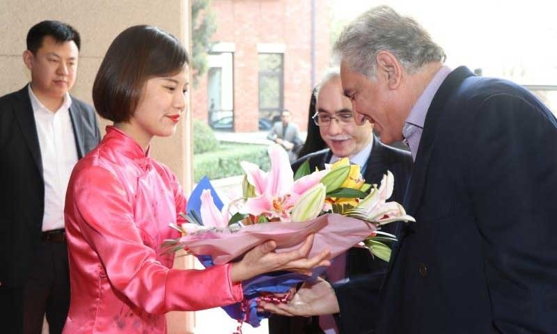 Pakistan Foreign Minister Shah Mehmood Qureshi to begin 3-day China trip