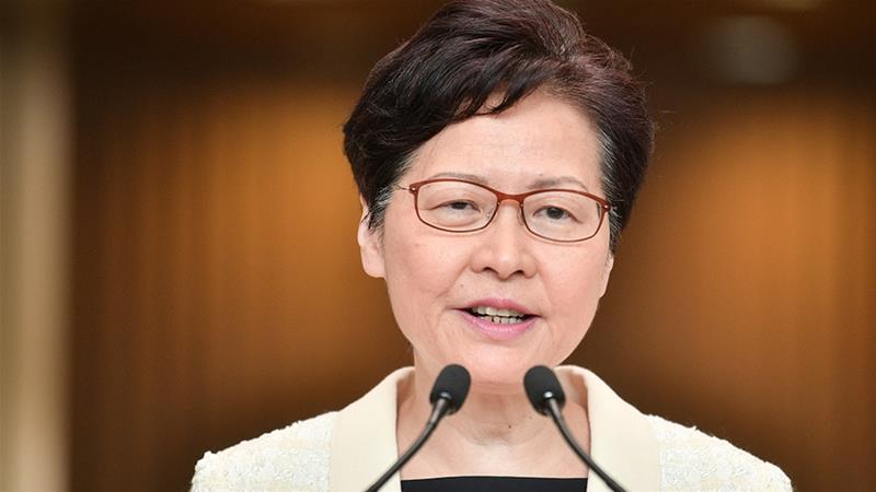 Chief Executive of Hong Kong announces to withdraw extradition bill
