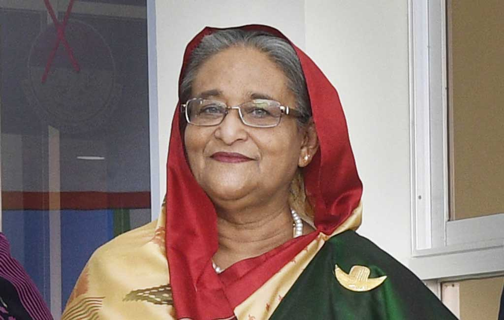 PM Sheikh Hasina leaves for Kolkata to watch India-Bangladesh Cricket Test match