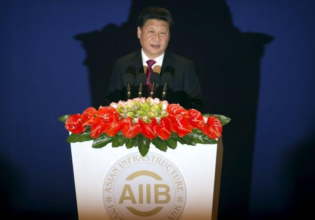 Chinese President Xi Jinping formally opens AIIB today
