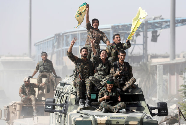 US-backed Syrian force declare victory over Daesh in Raqqa