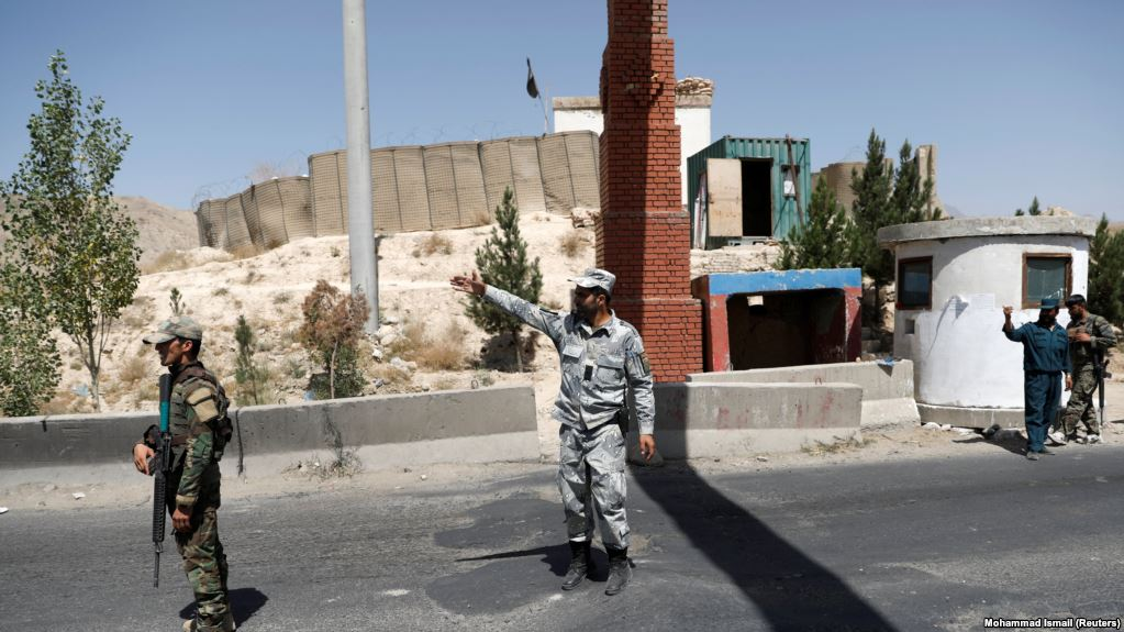 Taliban attack an Afghan forces check point, killing 13