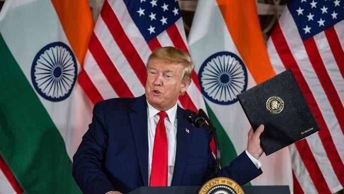 Trump praised for raising issue of religious freedom in India