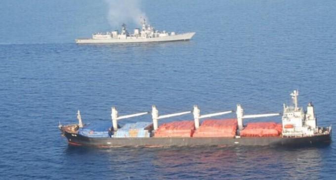 Indian ship rescued in Somalia, nine hostages still missing