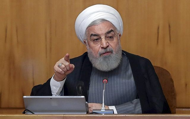 Rouhani says Tehran favors talks with Washington but US must first lift sanctions