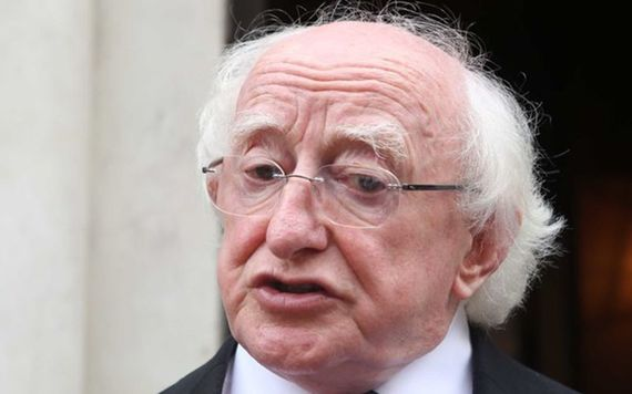Michael D Higgins re-elected as Irish president for second term