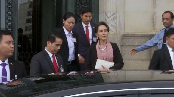 Rohingya refugees reject Aung San Suu Kyi