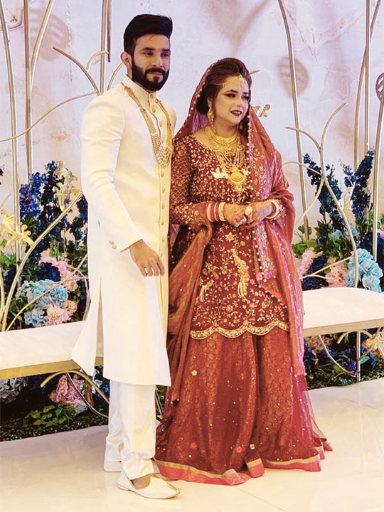 Families unite for Indian man's wedding with Pakistani woman in Dubai