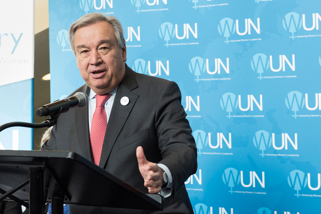 UN Secretary-General Antonio Guterres has condemned a suicide bombing in Nigeria