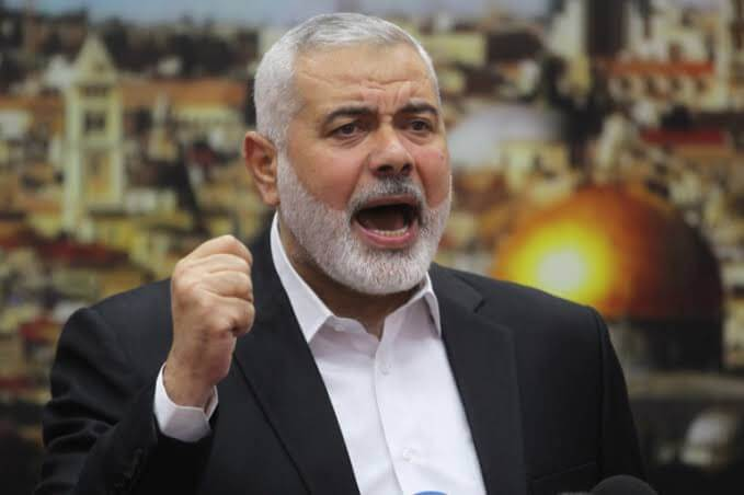 Group 'ready' for Israeli escalation, says Hamas leader Ismail Haniya