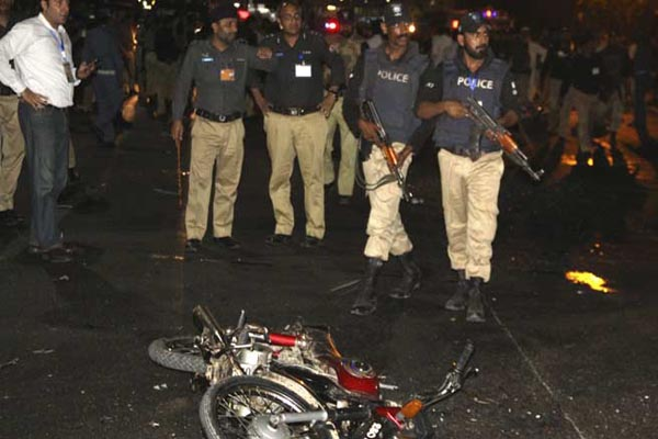 22 killed in Suicide blast at Pakistan government office