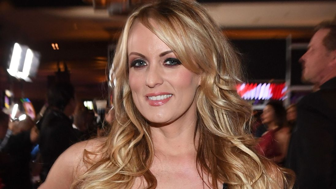 Adult star Stormy Daniels sues Trump
