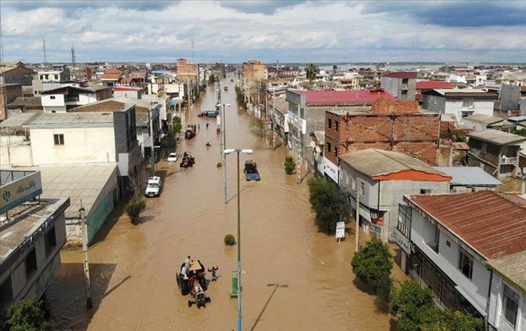 Flooding in Iran leaves 19 people dead