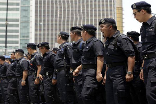 security forces take control in Jakarta.