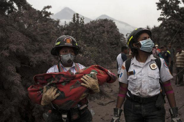 Toll in Guatemala volcano eruption rises to 69