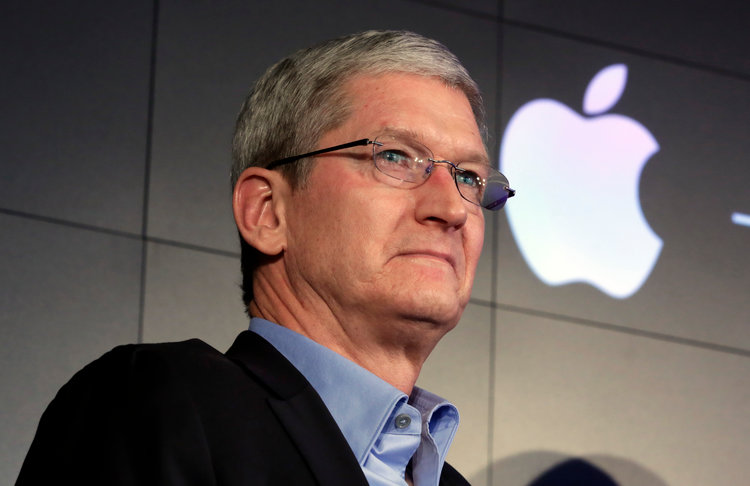 Apple boss Cook meets Chinese regulator after HK app criticism