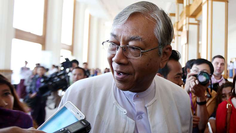 First elected President of Myanmar Htin Kyaw to be sworn-in today