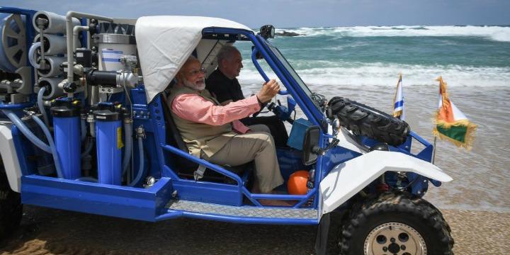 Benjamin Netanyahu to gift Gal-Mobile water desalinisation jeep to PM Narendra Modi