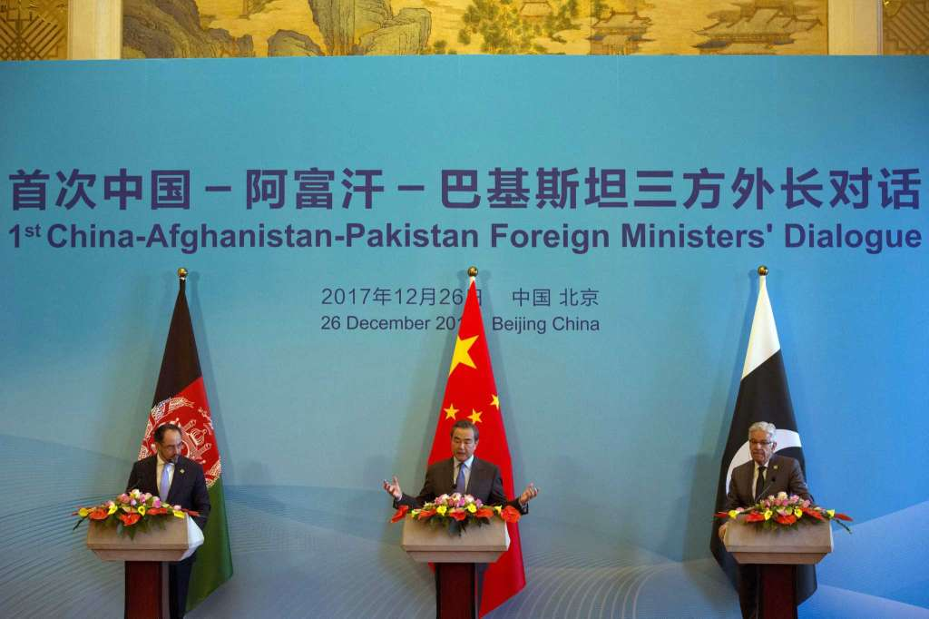China, Pakistan, Afghanistan FM