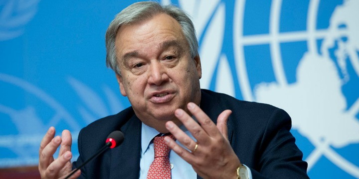 UN Secretary-General Antonio Guterres visit to Israel & Palestine